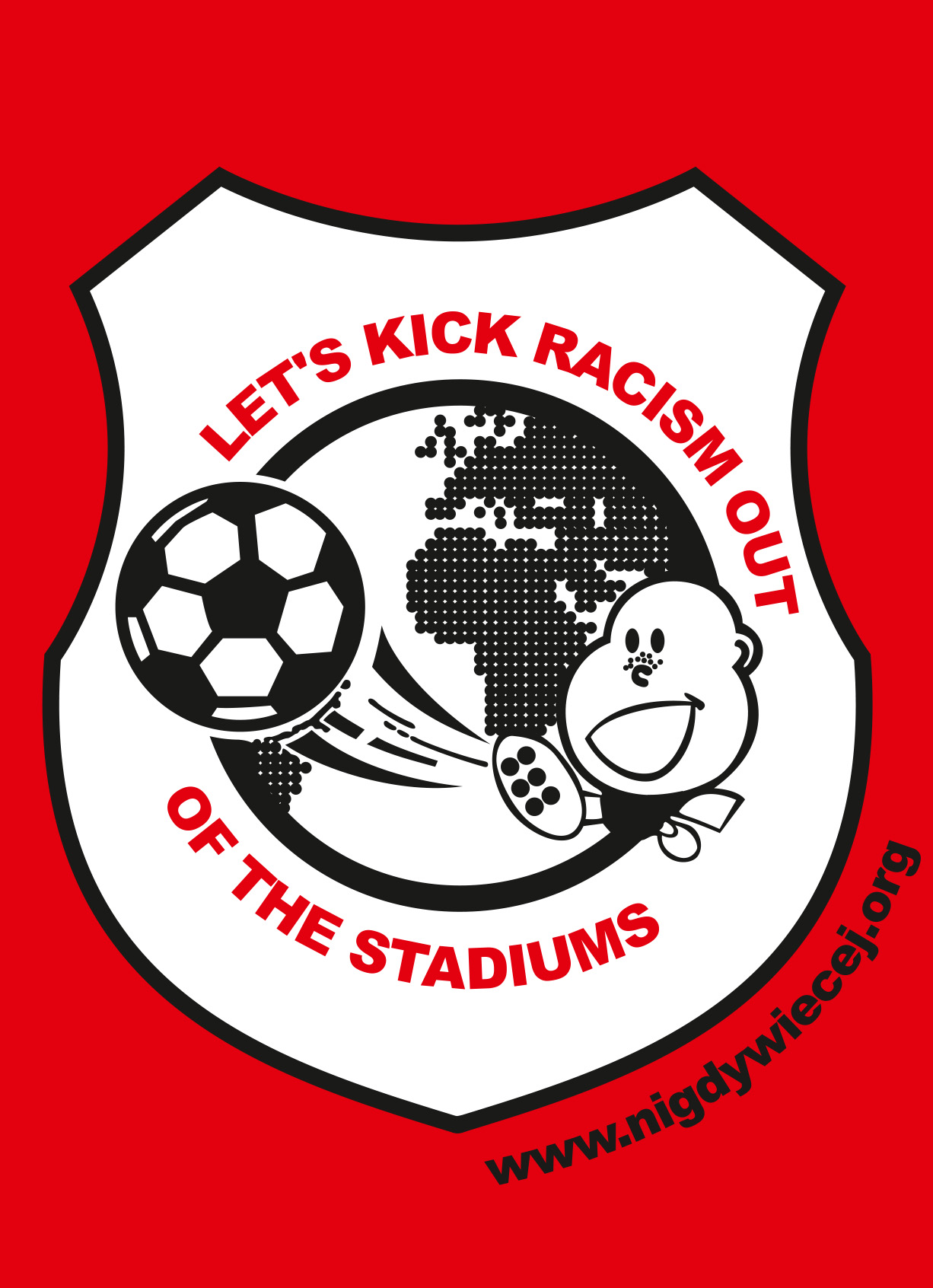 Let's kick racism out of the stadiums