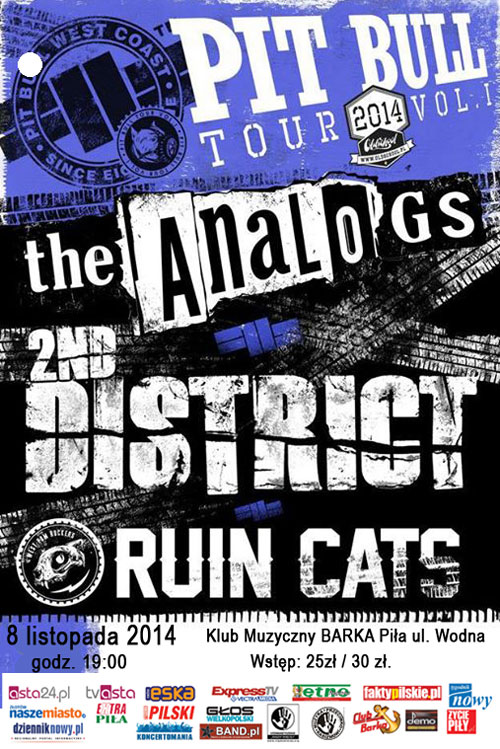 KONCERT THE ANALOGS, 2ND DISTRICT I RUIN CATS
