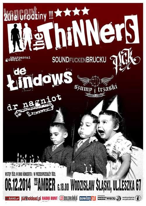 URODZINOWY KONCERT THE THINNERS