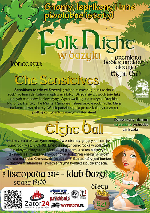 "FOLK NIGHT W ""BAZYLU"""